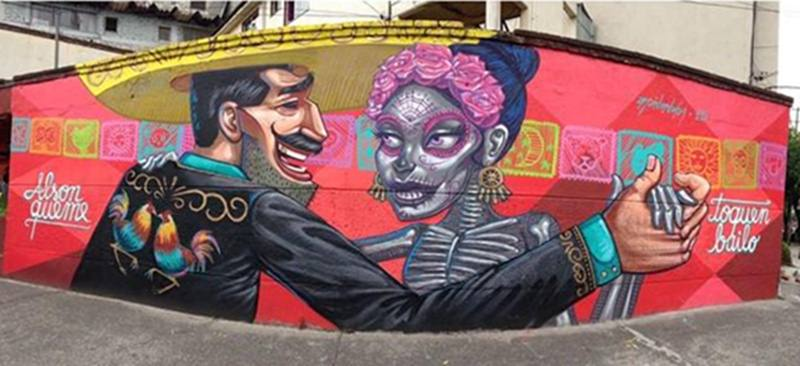 Arte urbano mexicano images galleries for Mural mexicano